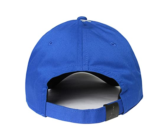 9f53f45c460 Amazon.com : NIKE Jordan Classic99 Metal Jumpman Hat Hyper Royal OSFA :  Sports & Outdoors