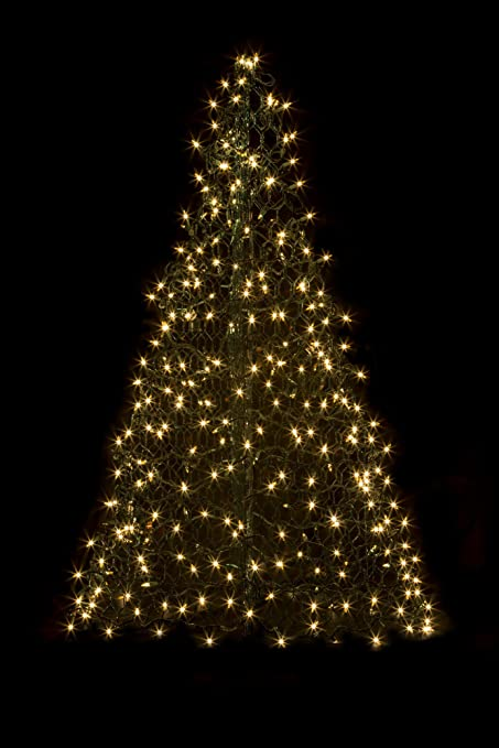 Image Unavailable - Amazon.com : 5' Crab Pot Tree W/350 Mini Lights - Clear : Garden