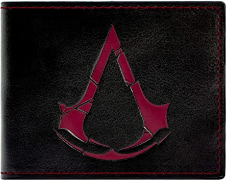 Ubisoft Assassins Creed Rogue Symbole Noir Portefeuille Amazon Fr Bagages