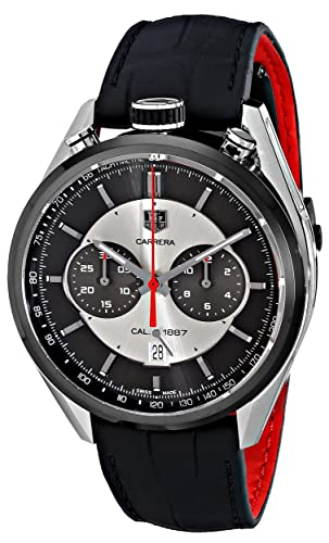 TAG Heuer Carrera - Reloj (Reloj de pulsera, Masculino, Acero, Titanio,