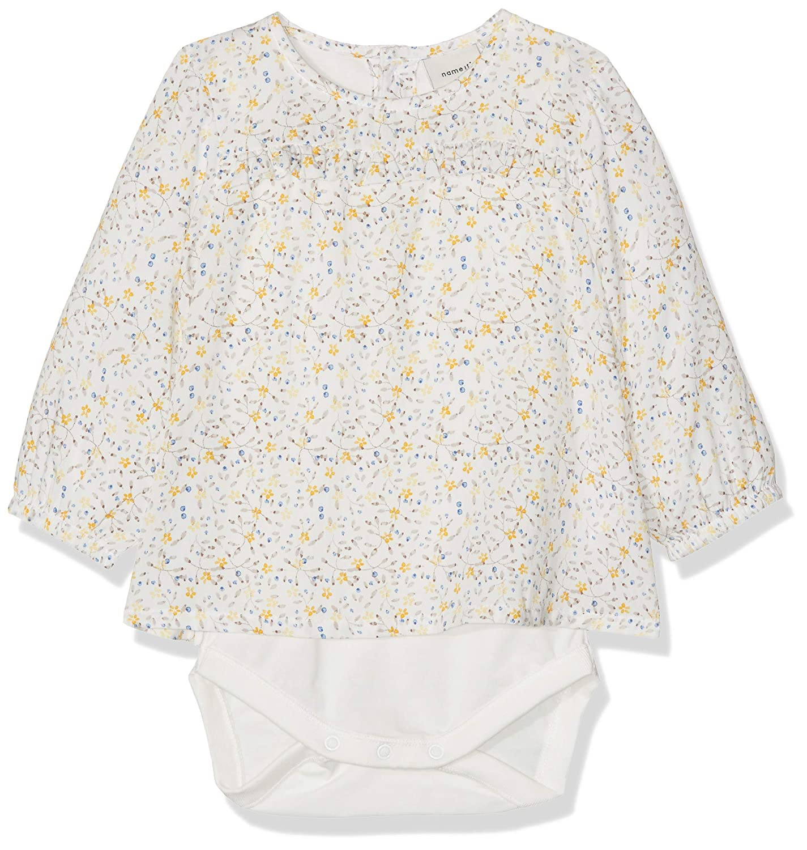 NAME IT Nbfdamita LS Shirt Body Mono para Beb/és