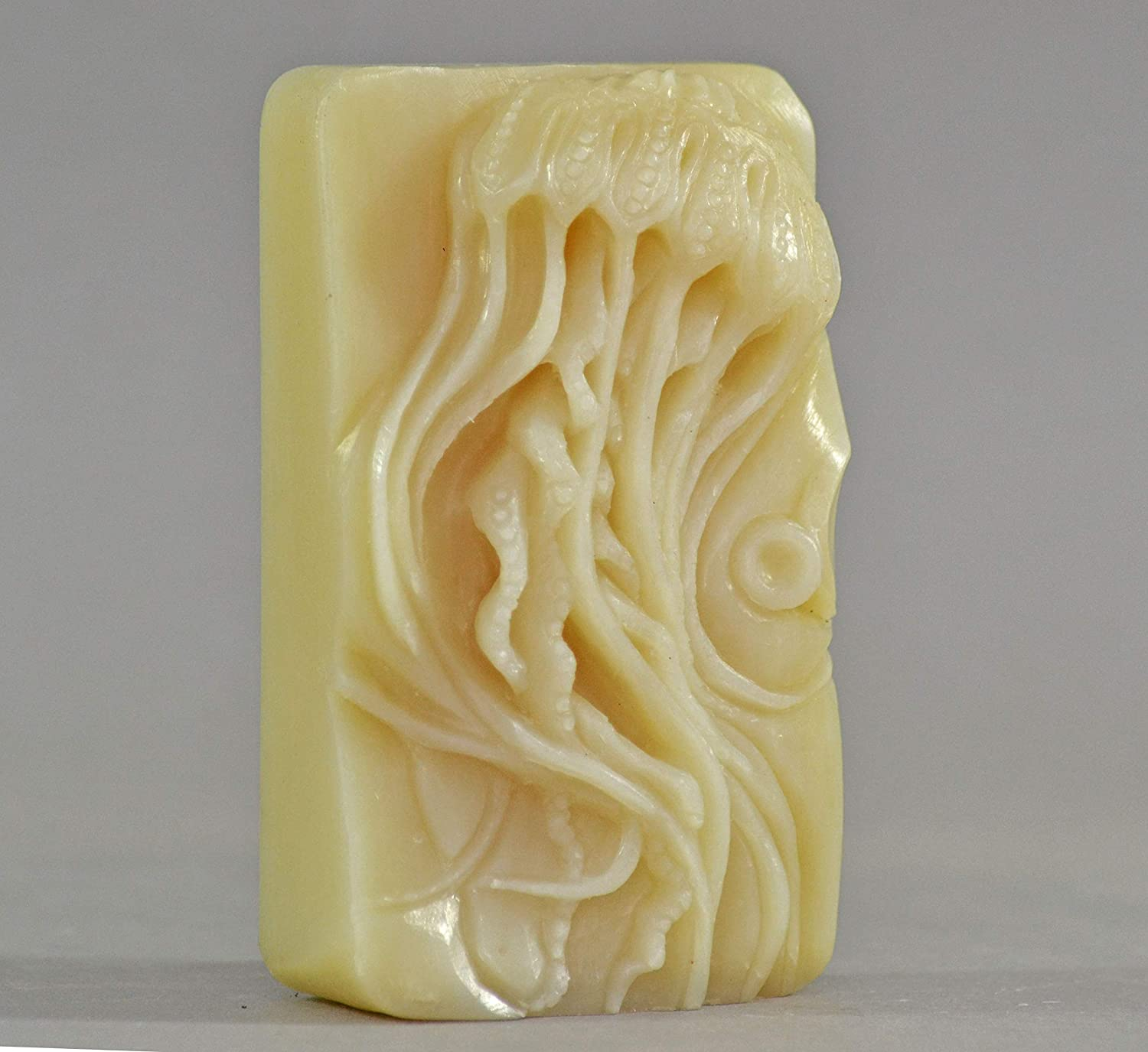 Medusa Silicone Mold SOAP Plaster Wax Resin Clay 5oz Jellyfish