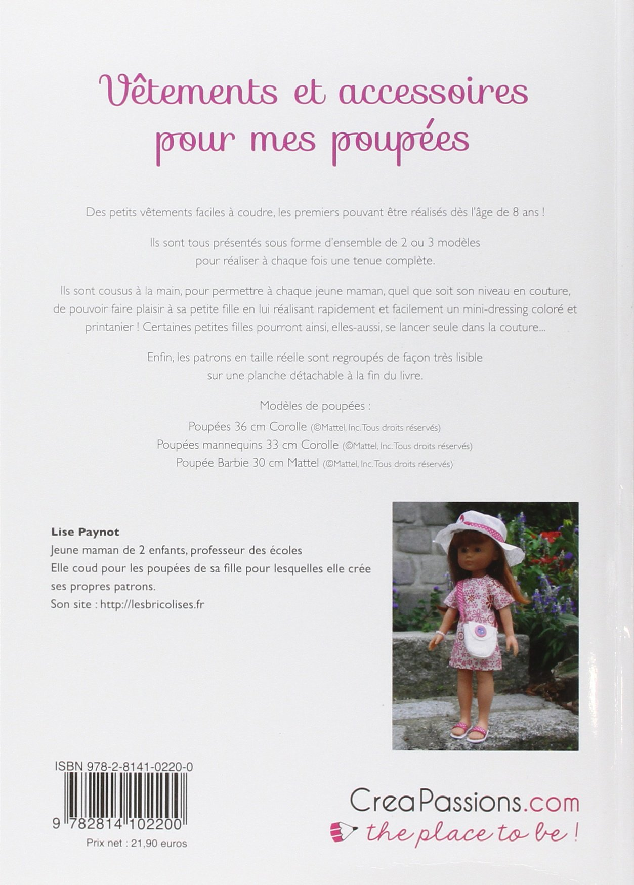 f09c1a188cc33 Amazon.fr - Vêtements et accessoires pour mes poupées - Lise Paynot - Livres