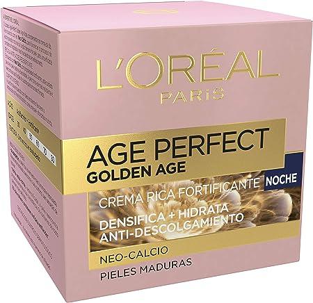 L'Óreal Paris - Age Perfect, Crema de Noche Rica Fortificante Golden Age, 50 ml