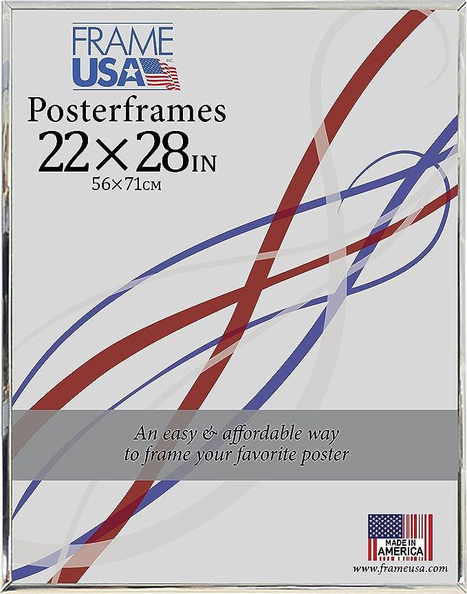 Amazon.de: 22 x 28 aus Hartfaserplatte Poster Rahmen (Silber)