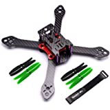 Readytosky 220mm FPV Racing Drone Frame for Reptile Martian III Carbon Fiber Quadcopter Frame Kit with Power Distribution Board PDB