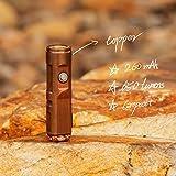 RovyVon A9 Copper Mini LED Flashlight