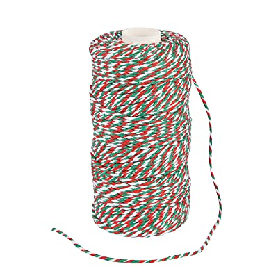 CHRISTMAS BAKERS TWINE - Party Supplies - 1 Piece: Home Improvement