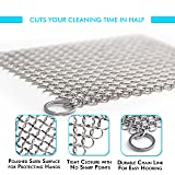 Candure Cast Iron Cleaner Stainless Steel 7x7