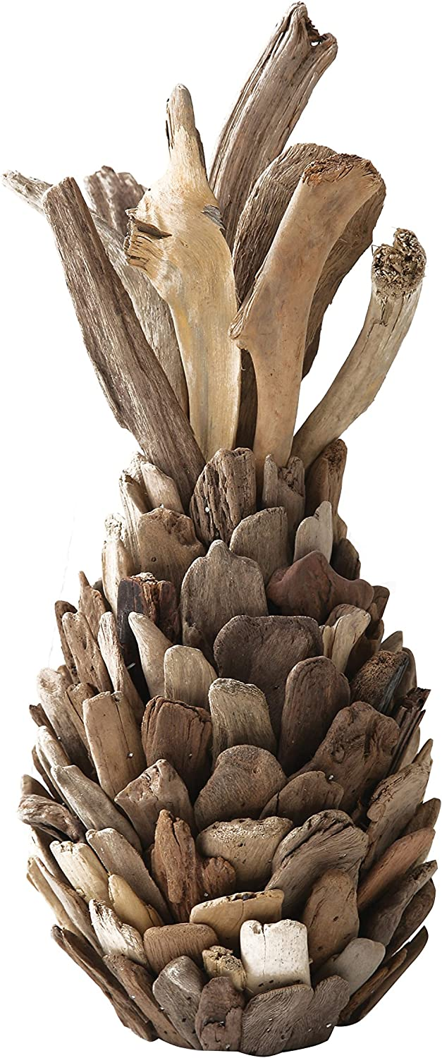 Creative Co-op Pure Driftwood Pineapple Decoration