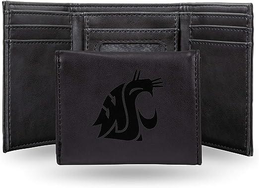 Washington Huskies NCAA Rico Industries  Laser Engraved Billfold Wallet