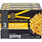 Cracker Barrel Sharp Cheddar Macaroni & Cheese 3 - 14 oz Boxes, 2 Pack