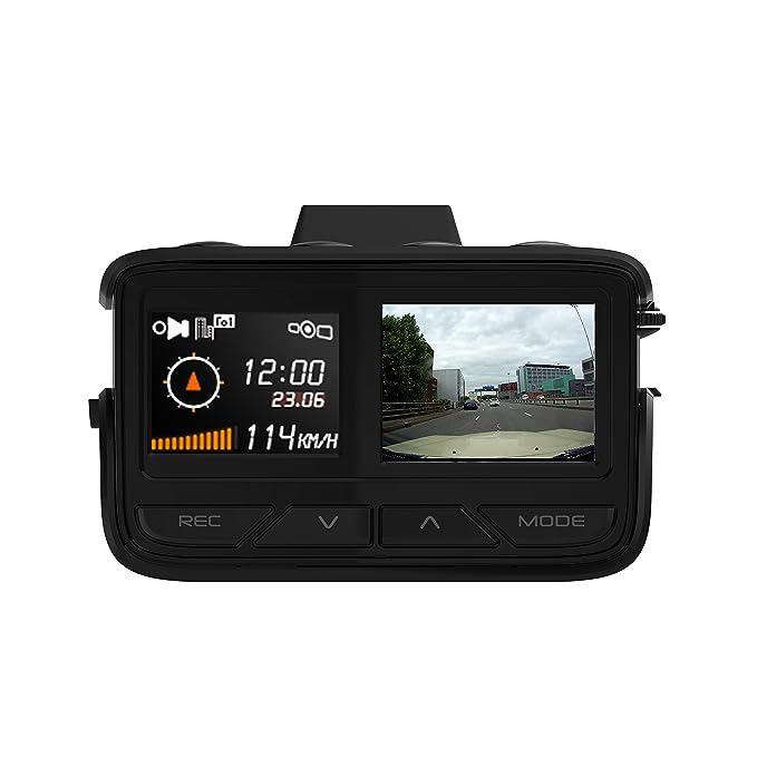 Radar Aguri Fusion gtx100 GPS, detector de velocidad de Láser trampa con integrado HD DVR Dash Cam: Amazon.es: Electrónica