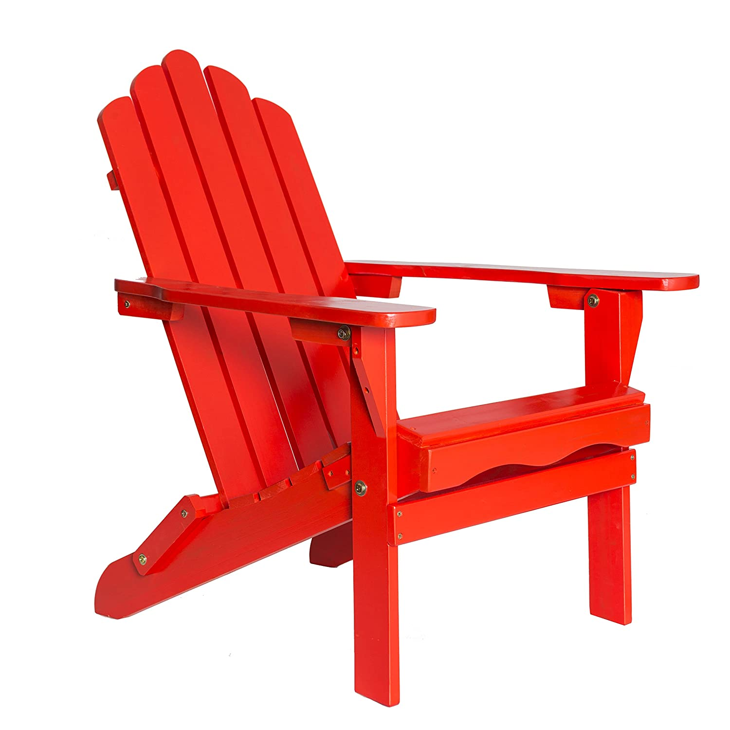 Enjoyable Amazon Com Table In A Bag Red Wood Folding Adirondack Squirreltailoven Fun Painted Chair Ideas Images Squirreltailovenorg