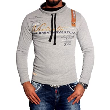 Hombre Cuello Manga Larga Camiseta de Polo Jersey S M L XL XXL BB ...
