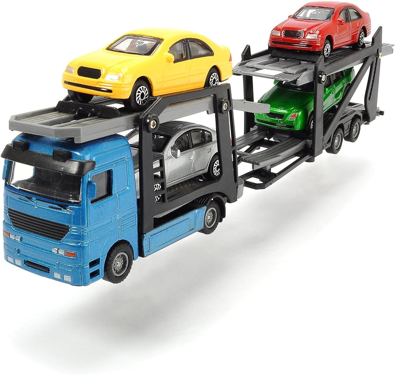 Camion Dickie Toys Happy Truck remorque de Voiture d/étachable avec Batterie Incluse 60 cm