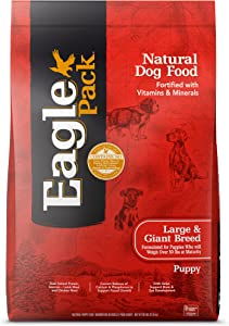 Eagle Pack Natural Dry Dog Food Large Breed Puppy Food Lamb, Chicken & Fish