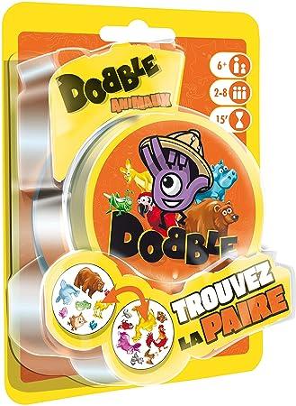 Asmodee Dobble Animales Blister, doan02fr, Juego de salón ...