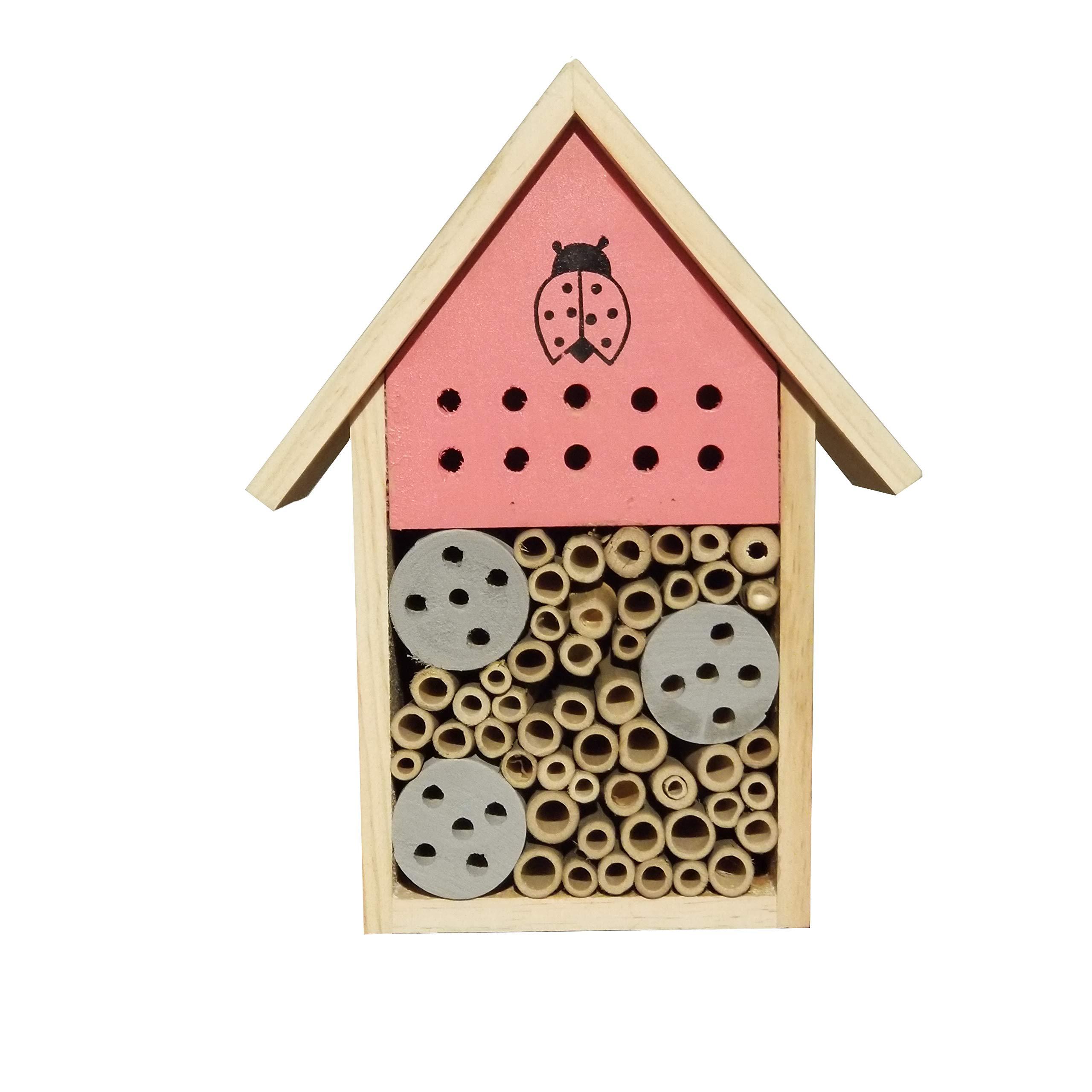 Cerebrum Shoppe Mason Bee House Made of All natural Materials
