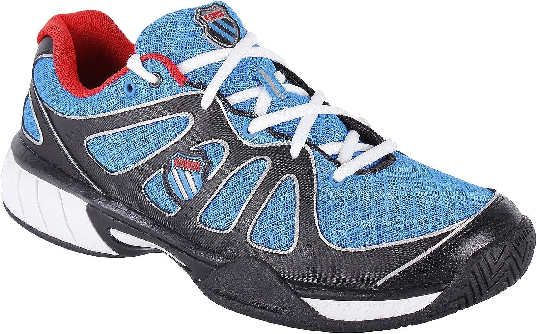 K-Swiss Express 100 Mesh Zapatillas, Hombre, Negro/Azul/Rojo, 41: Amazon.es: Deportes y aire libre