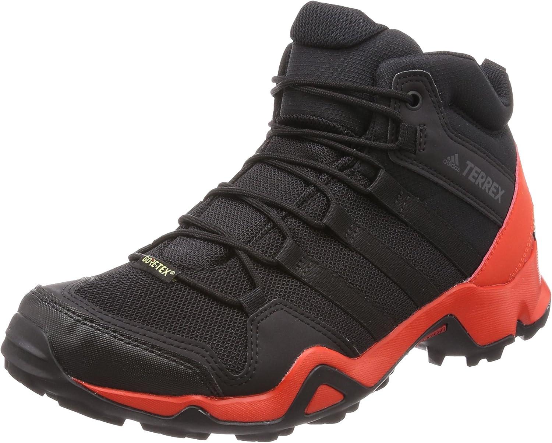 adidas Herren Terrex Ax2r Mid GTX Trekking & Wanderstiefel, Schwarz
