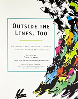 outside the lines too an inspired and inventive coloring book by creative masterminds - Outside The Lines Coloring Book