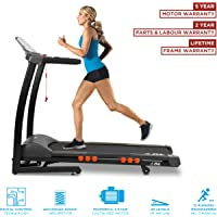 JLL S300 Digital Folding Treadmill, 2018 New Generation Digital Control 2.5HP Motor, 20 Incline Levels, 0.3km/h to 16km/h, 15 Professional Programs, USB & Speakers, 2-Year Parts&Labour, 5-Year Motor Cover