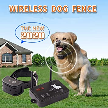 Amazon Com Wireless Dog Fence Electric Pet Containment System