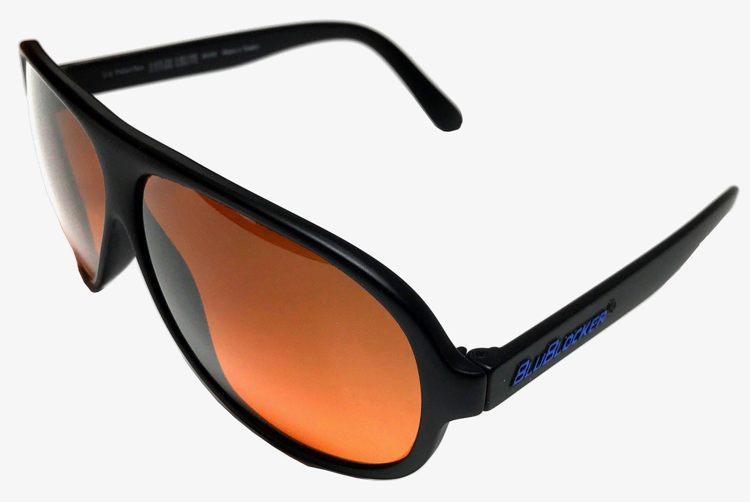 8b82bd498b2 Polarized Black Aviator BluBlocker Sunglasses 639713736984