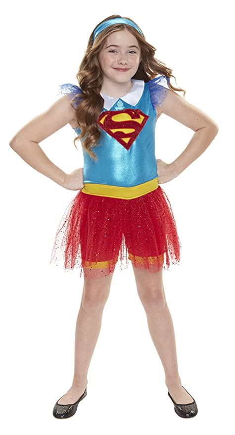 Amazon.com: DC Super Hero Girls Supergirl Everyday Dress-Up Outfit ...