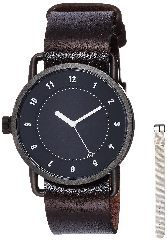 [ティッドウォッチ]TID Watches デザイナーズウォッチ ベルトセット スターターキット TID01-BK/W BELT SET 【正規輸入品】 B01N9UPFUW