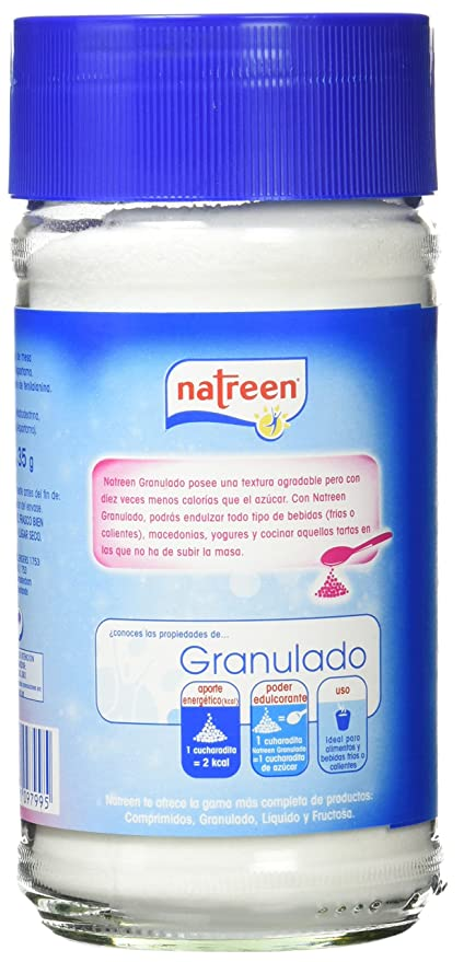 Natreen Edulcorante Granulado - 35 gr: Amazon.es: Amazon Pantry