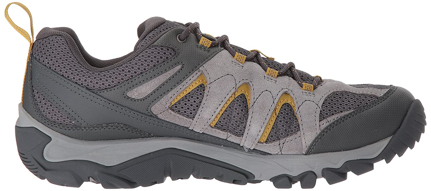 Merrell Men's Outmost Vent Waterproof Hiking Shoe B01N6GY3UO 07.5 M US|Frost Grey