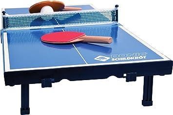 Donic-Schildkröt Mini Mesa de Tenis de Mesa, con 2 Raquetas y 1 ...