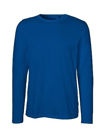 4498eaee3fbc Green Cat Neutral Mens Long Sleeve T-Shirt, 100% Organic Cotton and  Fairtrade