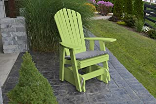 product image for Outdoor Poly Adirondack Gliding Chair - Tropical Lime