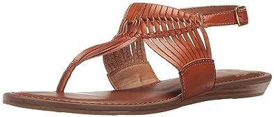 Fergalicious Women's Sadey Flat Sandal, Tan, ...