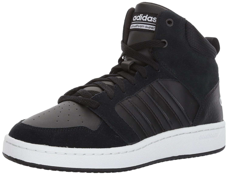 adidas uomini cloudfoam super hoops metà basket scarpa