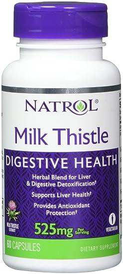 Natrol, Cardo Mariano Advantage®, 525 mg, 60 Cápsulas Vegetarianas