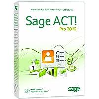 Sage ACT! Pro 2012 1 user (PC)
