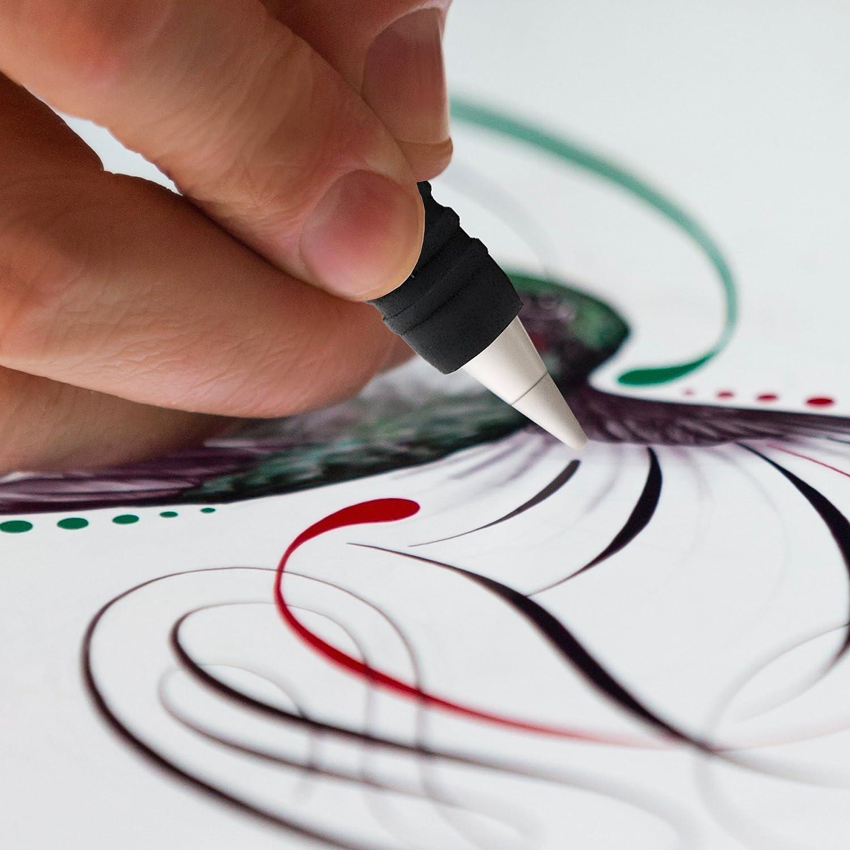 Transparent /Étui Apple pour Apple iPad Pro iPencil Silicone Cas Sac Prime Grip Poign/ée Poche Compatible avec iPad Pro 9.7 /& 12.9
