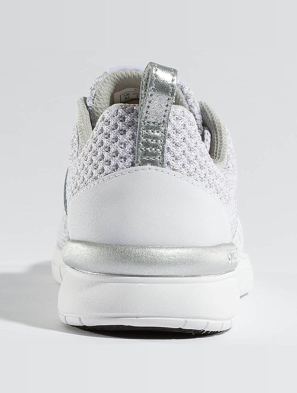 Supra Women's Scissor '18 Shoes B074KJ3ZMX 9.5 M US White/Silver-white