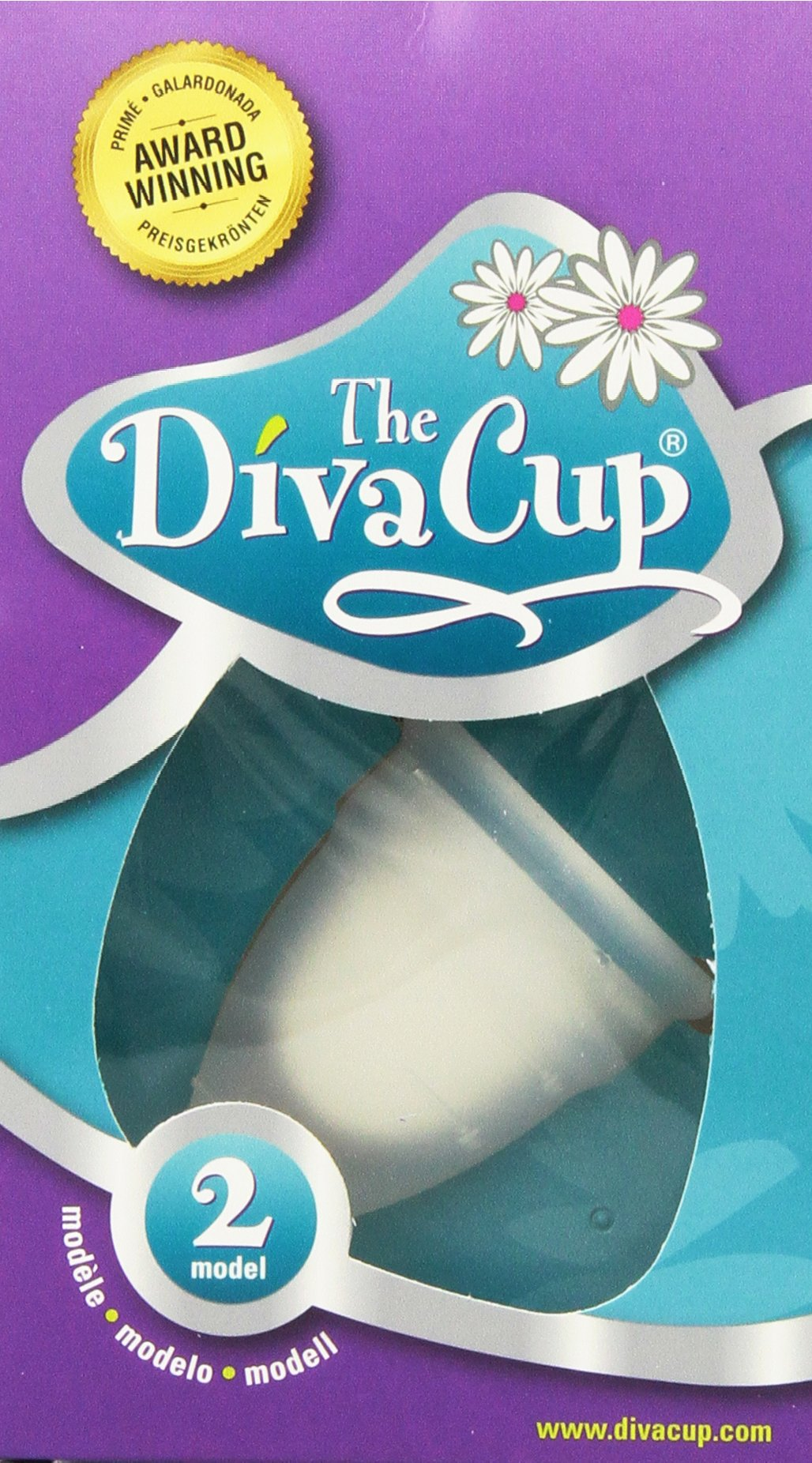 Diva Cup Model 2, 2 Count