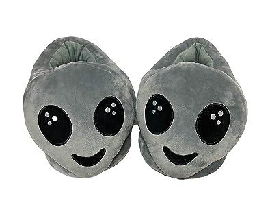PLUSHERS Original Premium Quality Alien Emoji Slippers