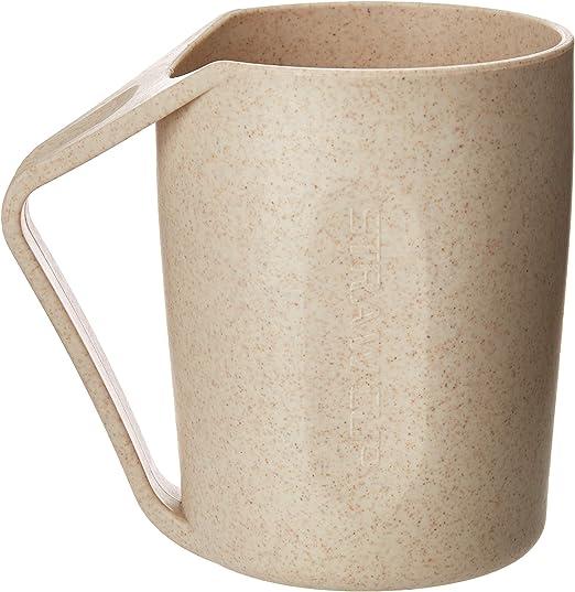MUFEI - Vaso de plástico biodegradable para agua, café, leche (6 ...