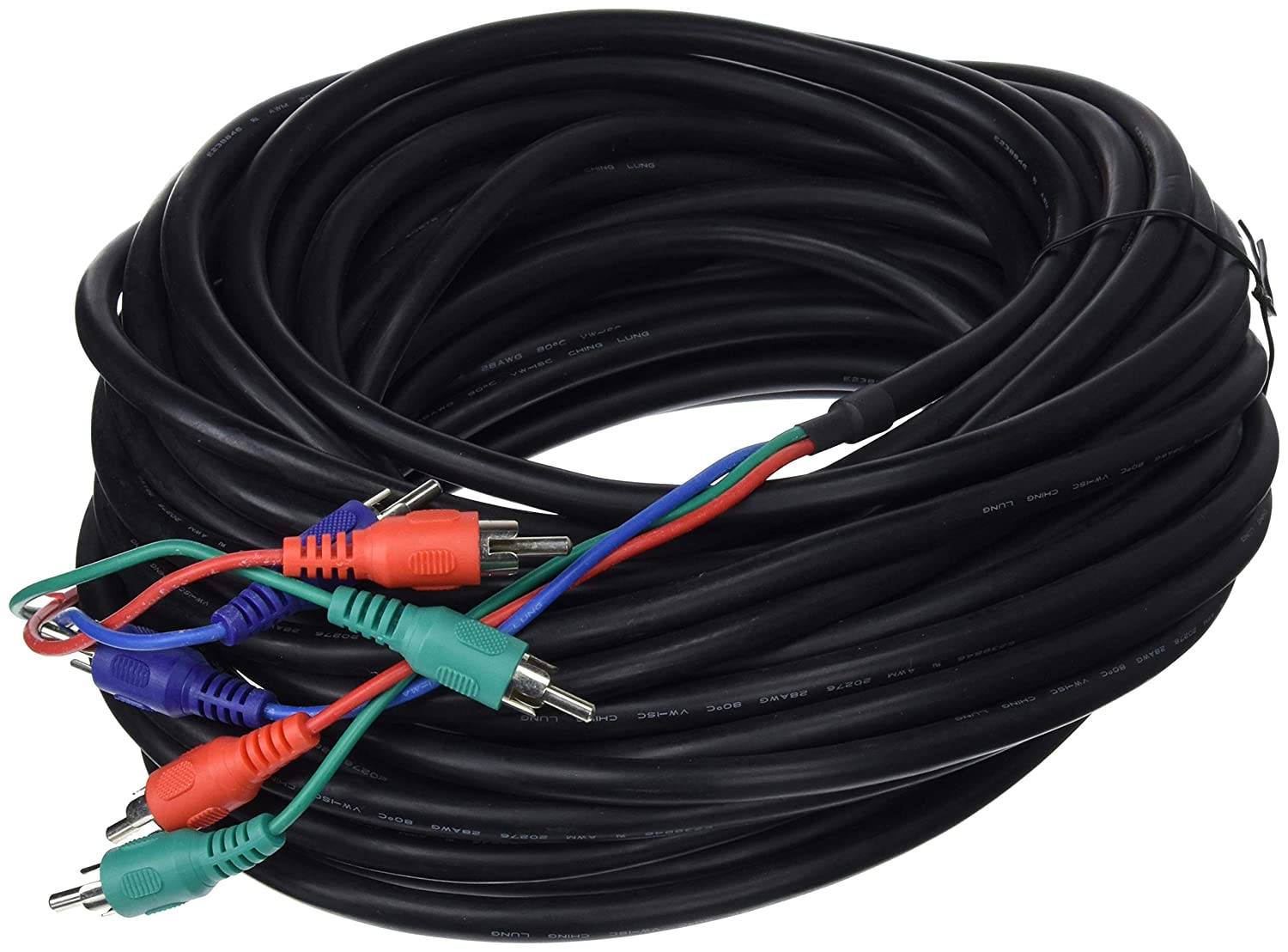 3xRCA RGB Video Cable (M/M) 15m Cablematic.com PN25021411404108287