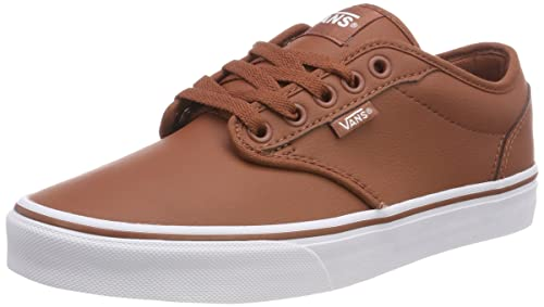Vans Men s Atwood Synthetic Leather Low-top Sneakers Brown ((Classic Tumble)  Sequoia d0bd078dc