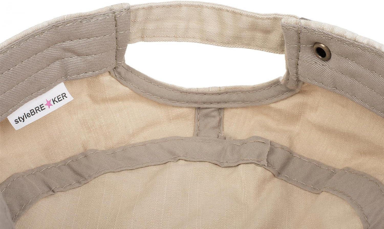 styleBREAKER berretto militare dal look washed vintage regolabile used unisex 04023011