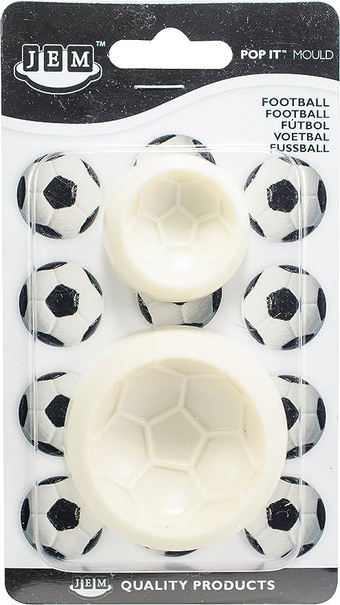 JEM Pop It - Molde en Forma de Balón de Fútbol para Decoración de ...