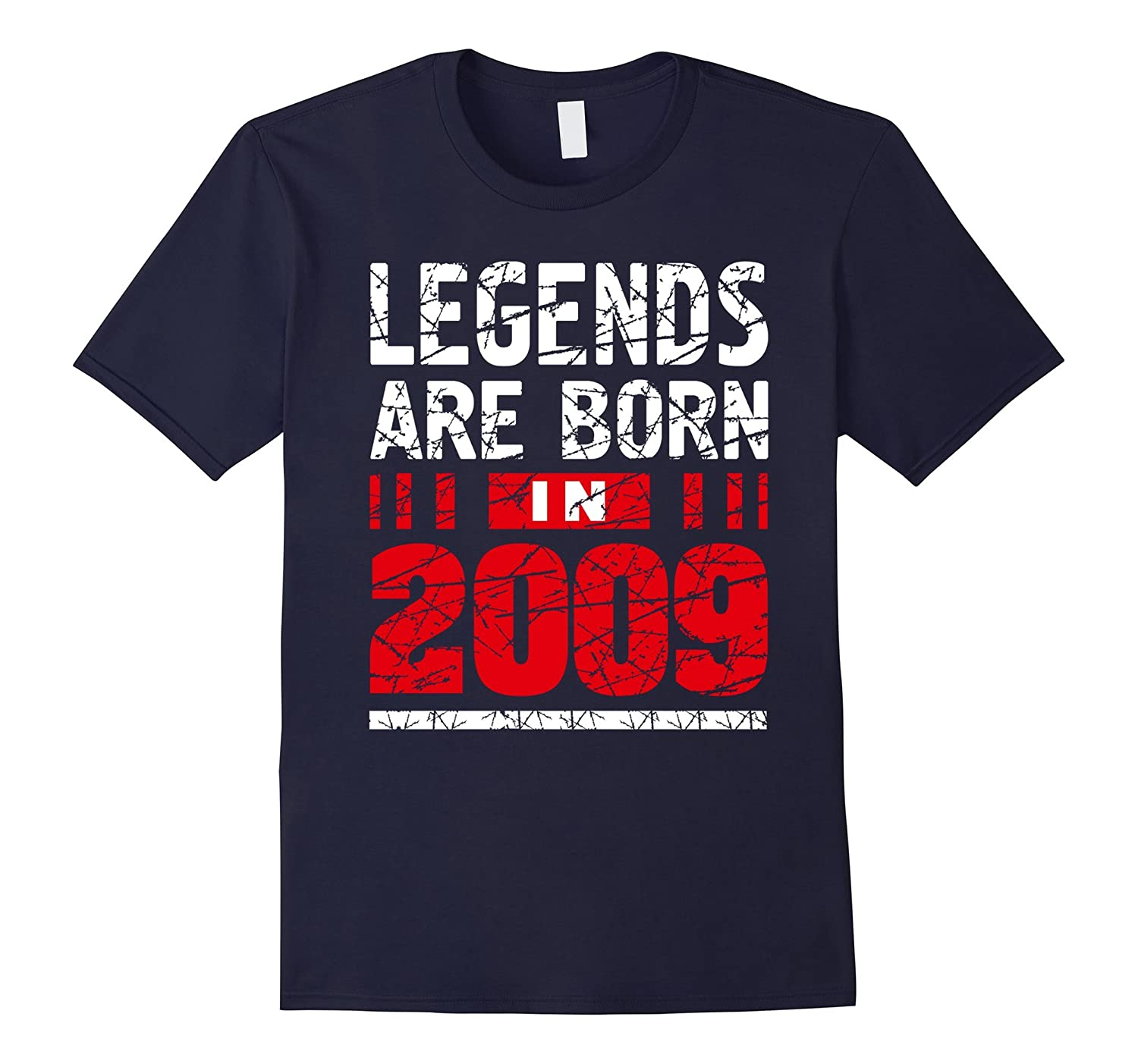 8 years old 8th Birthday B-day Gift Legends 2009 T Shirt-T-Shirt